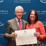 J Williams and President Clinton
